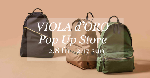 VIOLA d'ORO POP-UP STORE @SPTIFARO OSAKA