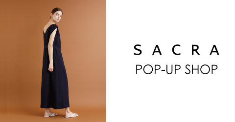 SACRA POP-UP SHOP @SPITIFARO OSAKA & KYOTO