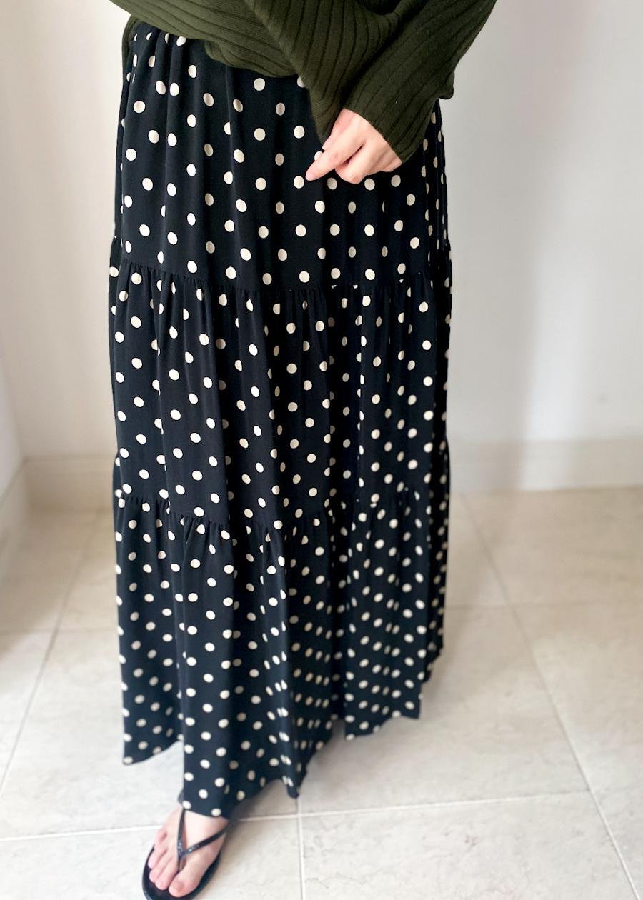 SACRA / POLKA DOT SKIRT