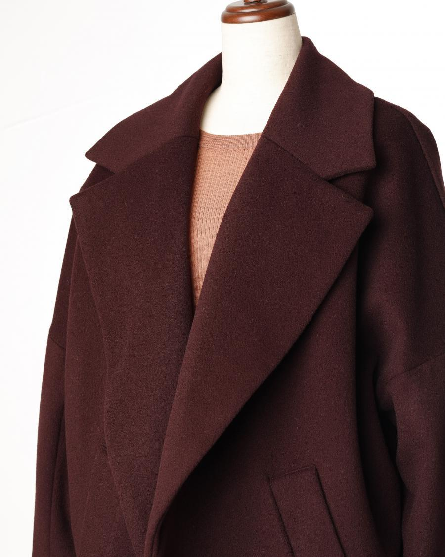 SACRA / BIG COLLAR COAT