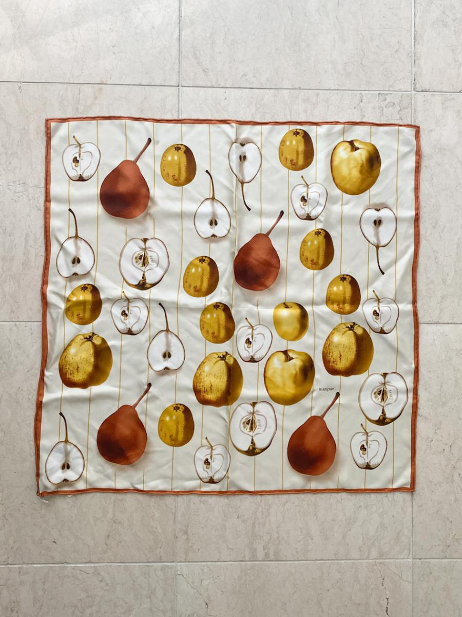 MANIPURI / APPLE SILK SCARF