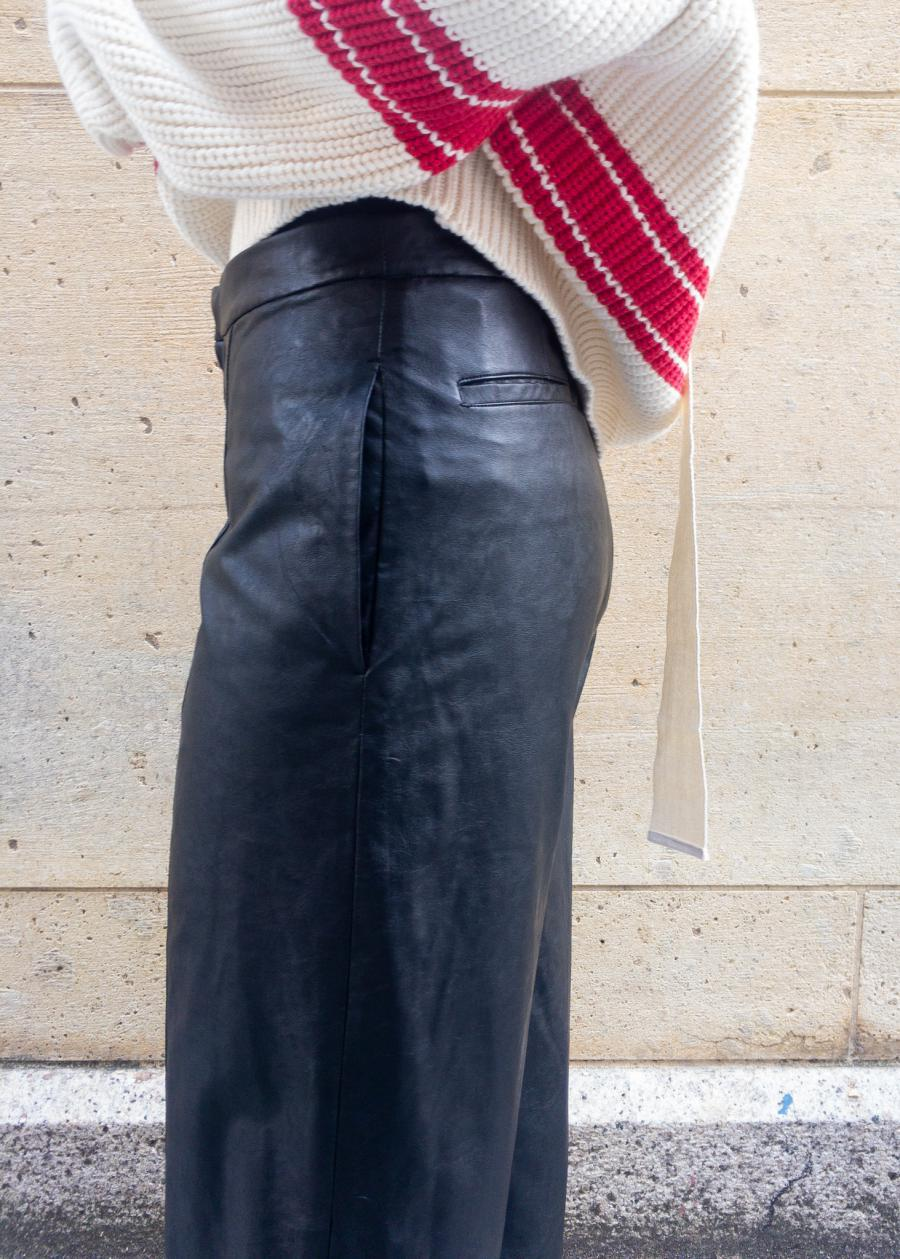FLORENT / SYNTHETIC LEATHER PANTS