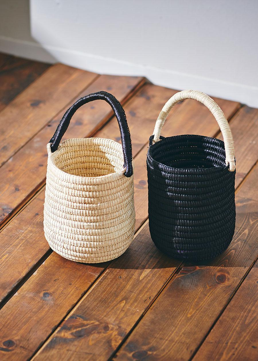 ARTESANO / QUITO ROWND BASKET BAG