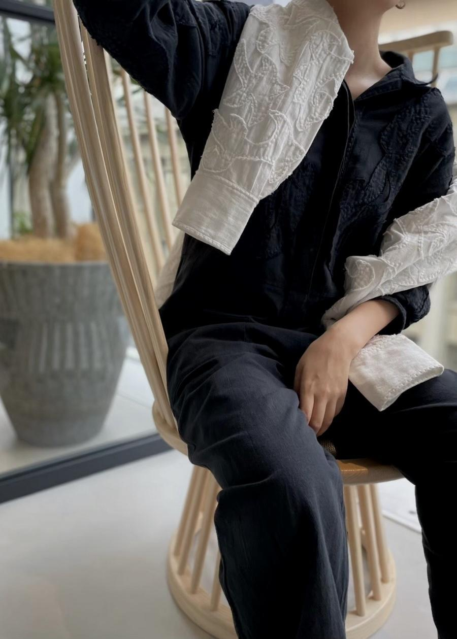 SARA MALLIKA / C-LINEN PATCH ALL IN ONE