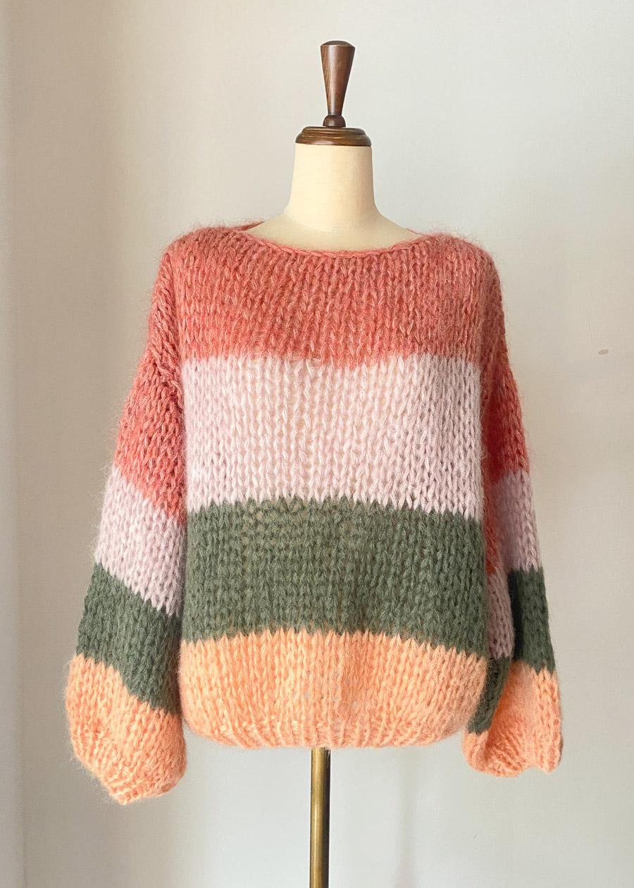 MAIAMI / BIG SWEATER COLOUR BLOCK