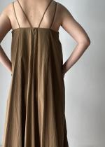 SACRA / WASHED TYPEWRITER DRESS