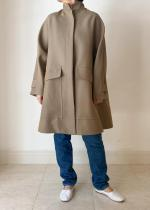 FORMO / STAND COLLAR COAT